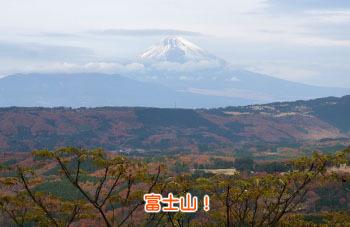 10-4巣雲山からみた富士山