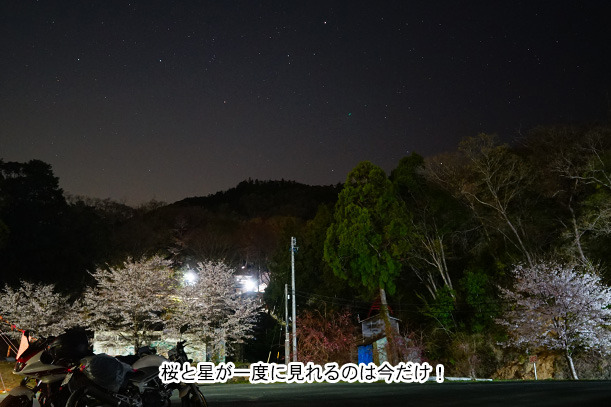 てんてんゴー渋川キャンプ場 夜