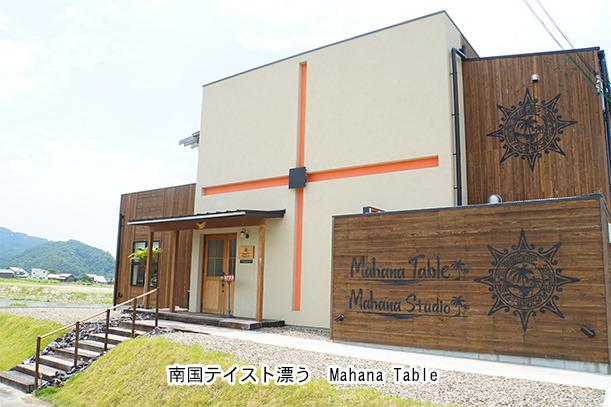 Mahana Table 外観