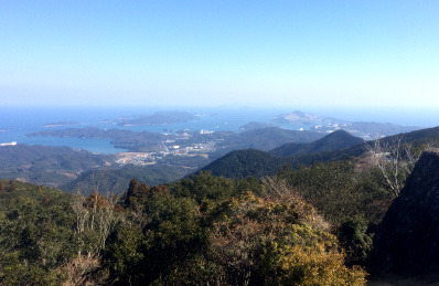 伊勢志摩スカイライン風景