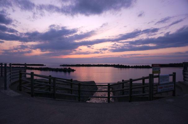 17-5日没後の越前海岸