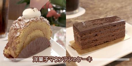 21-3マウンテンのケーキ