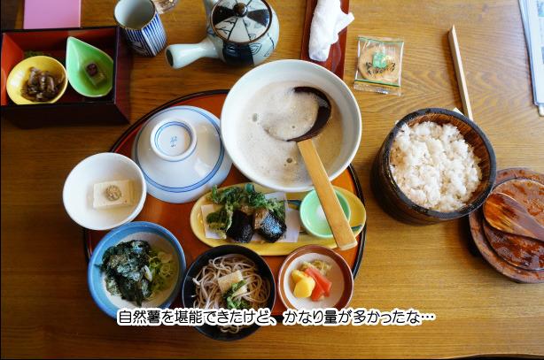 39-3茶茶の自然薯定食・竹