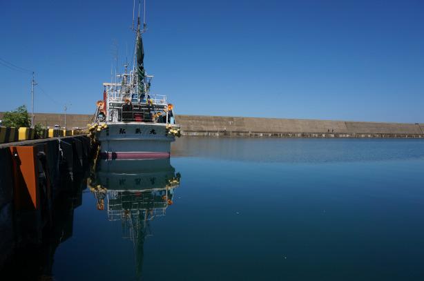 釣り船の写真