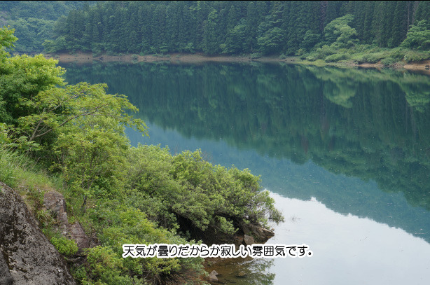 46-1九頭竜湖