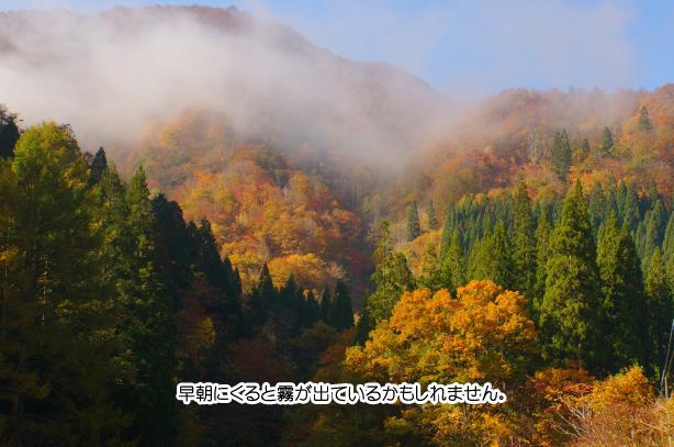 九頭竜湖の紅葉 62-2