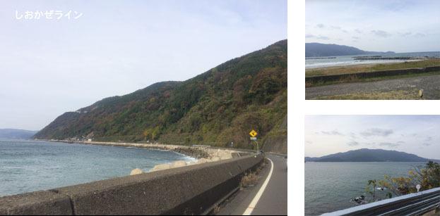 しおかぜライン 県道204号 福井県